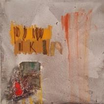 'Clavos, madera y tela'